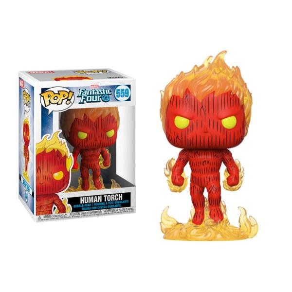 Figurine Funko Pop HUMAN TORCH – 559
