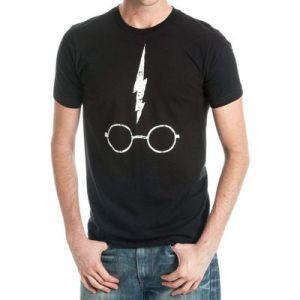 T-Shirt HARRY'S GLASSES Noir