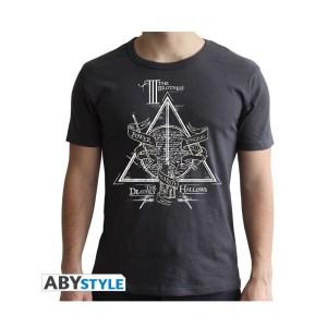 T-Shirt RELIQUES DE LA MORT Gris foncé