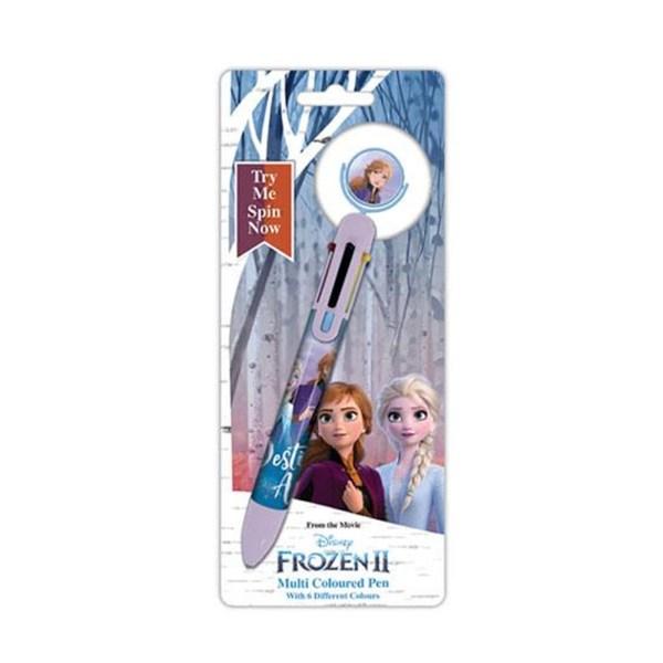 Goodies Stylo 6 couleurs «La reine des neiges»