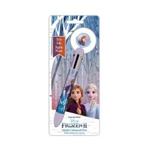 Stylo 6 couleurs «La reine des neiges»