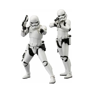 Pack 2 figurines «First Order Trooper»