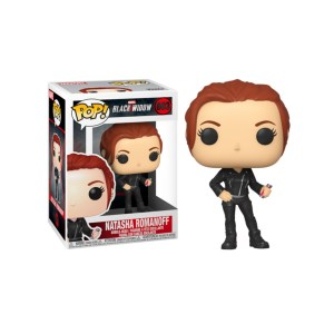 Funko Pop Marvel Black Widow Natasha Romanoff – 603