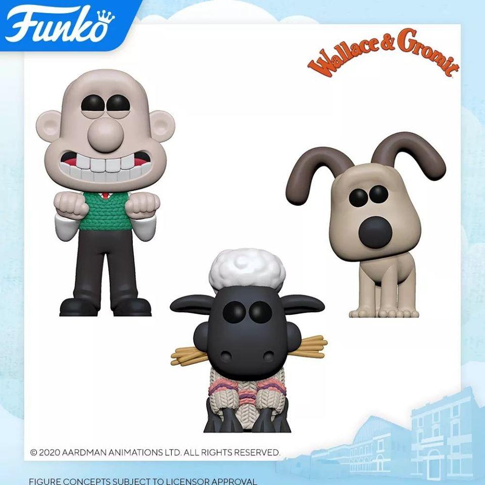 Annonces Funko Pop london toy fair 2020 animation