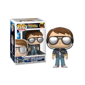 Funko Pop Retour vers le futur Marty (with Glasses) – 958