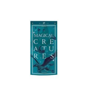 """Bannière déco Bleu """"MAGICAL CREATURES"""""""
