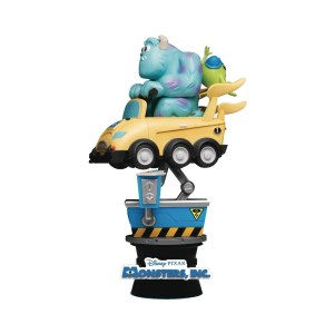 Diorama « SULLEY & MIKE COIN RIDE »