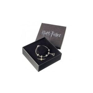 Bracelet 2 Charms «Reliques de la mort et vif d'or»