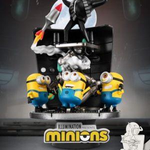 Diorama «MINIONS MOON»