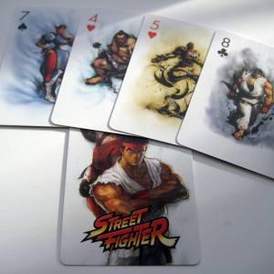Jeu de 54 Cartes Street Fighter