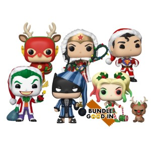 Bundle 6 Pop  » DC COMICS NOEL »