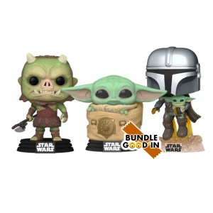 Funko Pop The Mandalorian – Bundle 3 Pop