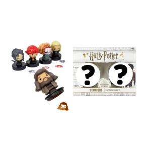 Boite mystère lot de 2 Tampons encreurs Harry Potter