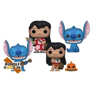 Funko pop Disney Lilo & Stitch – Bundle 4 Pop