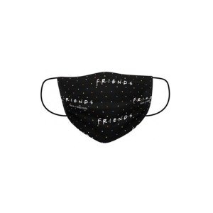Masque tissu Friends Logo 3 Plis