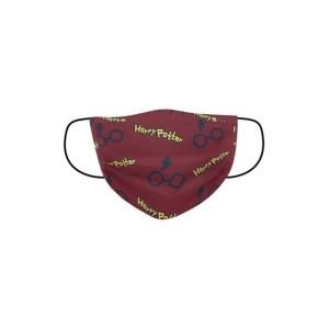 Masque tissu Harry Potter Lunettes 3 Plis