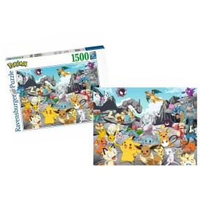 Puzzle Pokemon Classics 1500 pièces