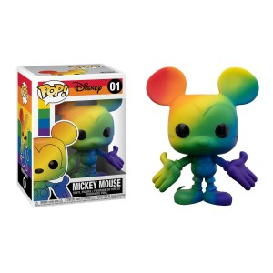 Funko Pop Disney Mickey Mouse (Pride 2021) – 01
