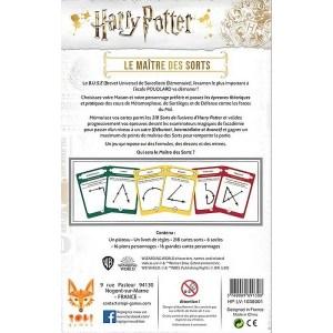 Jeu de societe Harry Potter Le maitre des sorts