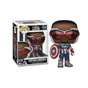Funko Pop Marvel Falcon & Winter Soldier Captain america – 814