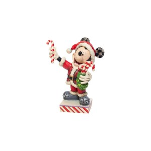 Figurine Disney Mickey Mouse Candy Cane Traditions