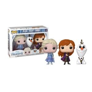 Funko Pop Disney La reine des neiges Elsa, Olaf et Anna – 3 Pack
