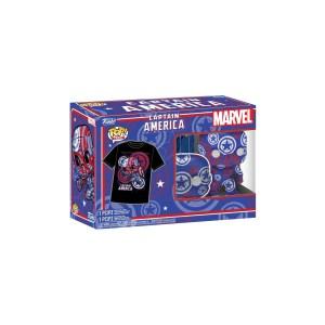 Funko Pop & Tee Marvel Captain America Civil War Art Series – 36