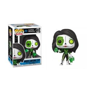 Funko Pop Dia de Los DC Green Lantern (Jessica Cruz) – 411