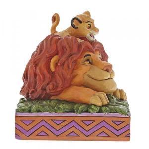 Figurine Disney Traditions Simba et Mufasa