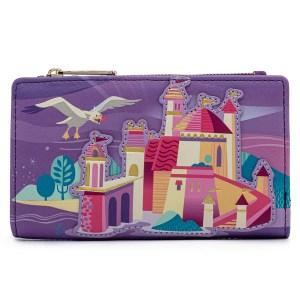 Portefeuille Loungefly Disney Ariel Castle
