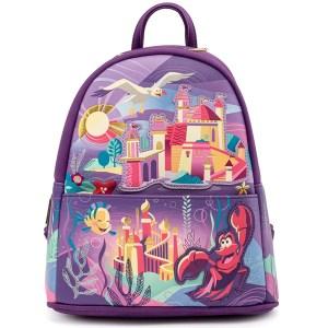 Sac à dos Loungefly Disney Ariel Castle