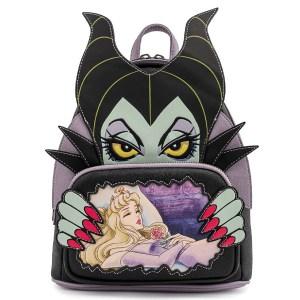 Mini Sac à Dos Loungefly Disney Villains Malefique et Aurore