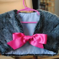 Girl's Fur Shrug Tutorial