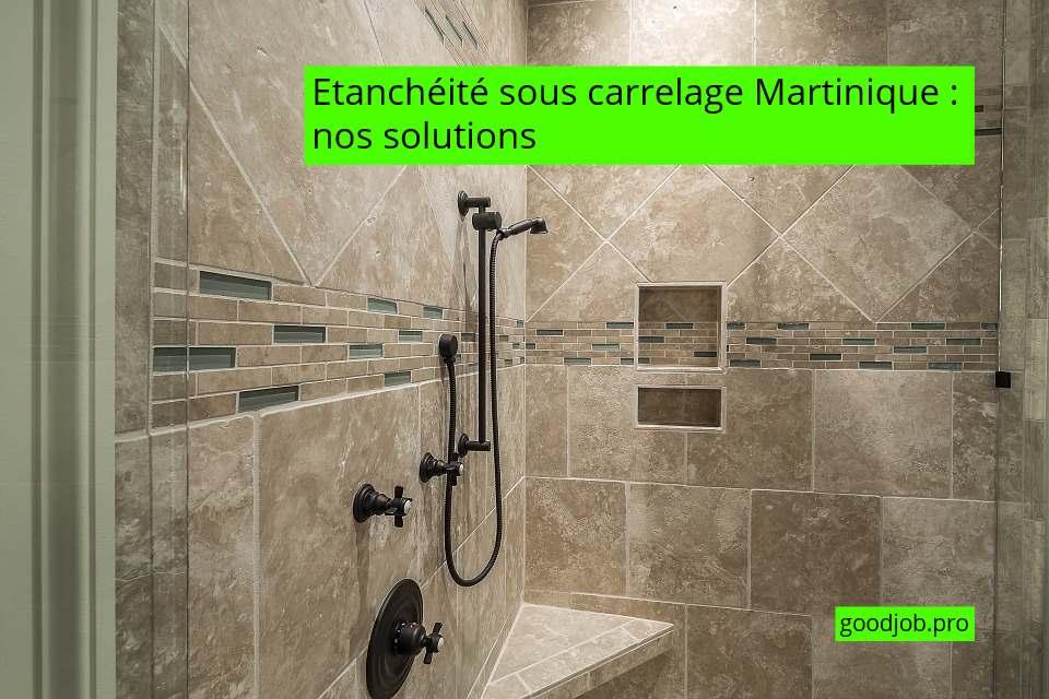 Etancheite Sous Carrelage Martinique Nos Solutions Good Job Martinique
