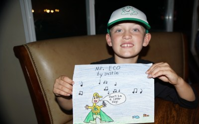 What Does a Nine-Year-Old Frog Enthusiast Do With an Idea?