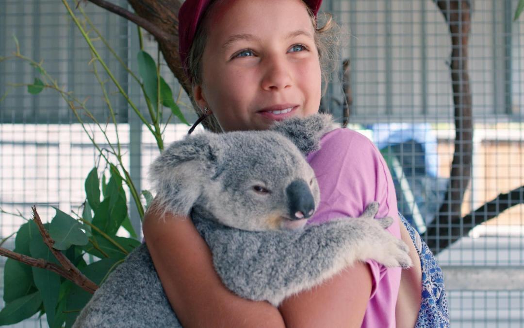 Meet The Koala Whisperer, a 13-Year-Old Netflix Star