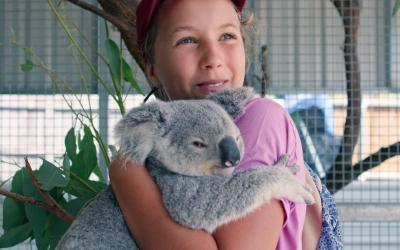 Meet The Koala Whisperer, a 13-Year-Old Netflix Star