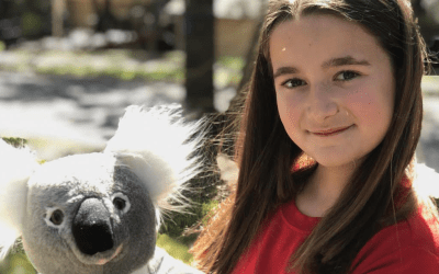 10-year-old Finds Inspiration On a Safari and Writes a Book To Help Animals