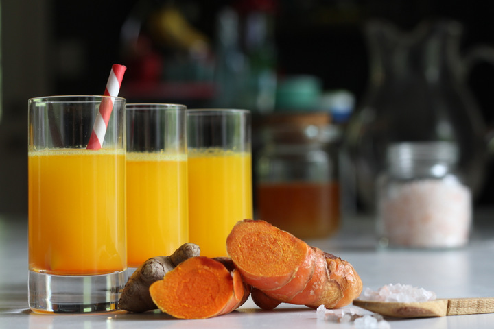 Turmeric Tonic juicing recipe