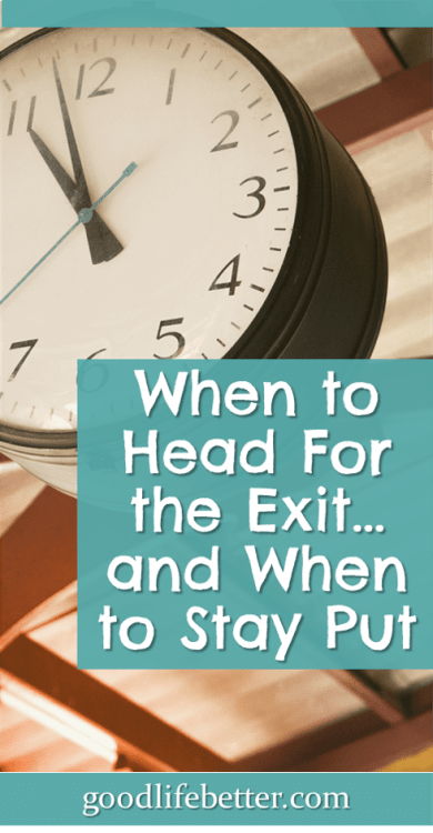 There are lots of factors to consider when quitting your job and I don't recommend storming out without a plan. #QuittingYourJob #CareerPlanning #GoodLifeBetter