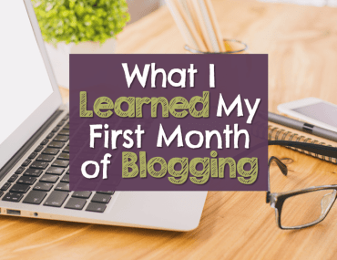My first month of blogging was a roller coaster ride! #BloggerLife #GoodLifeBlogger