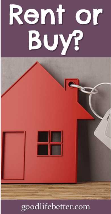 Trying to decide whether you should rent or buy? Ask yourself these 5 questions! #BuyingaHome #GoodLifeBetter