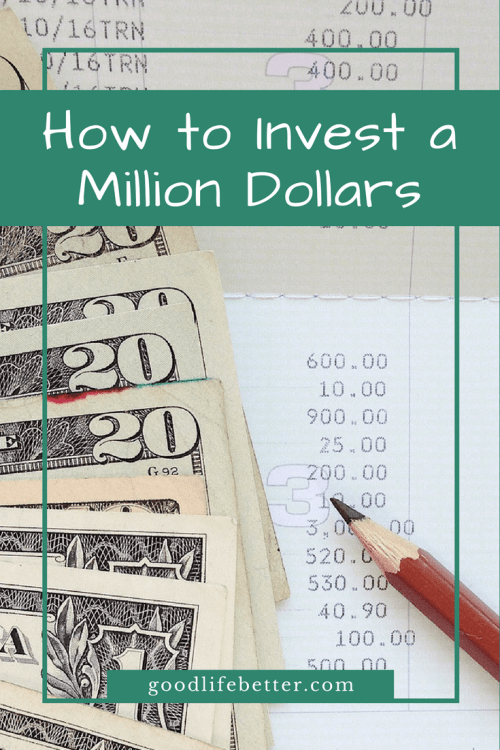If I had a million dollars to invest, I would buy a mix of low-fee index funds.  It's not sexy but I believe it is a path to wealth!