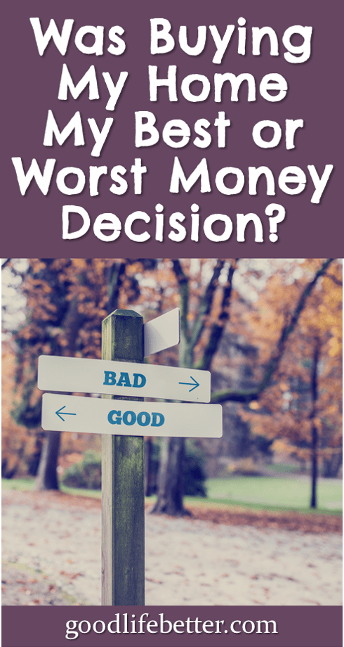 Want to make better money decisions? It's important to identify the factors you can control. #HomeBuying #MoneyFears #GoodLifeBetter