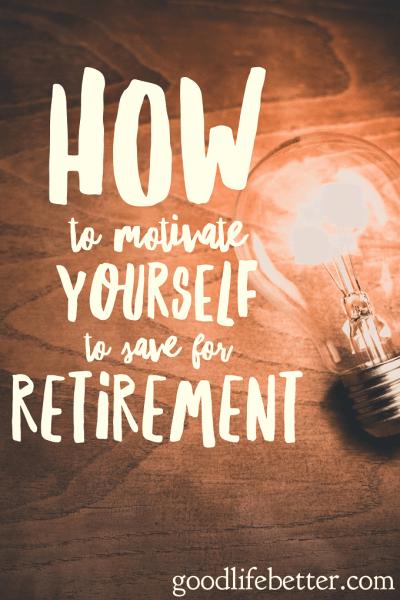 Setting a retirement goals is key!