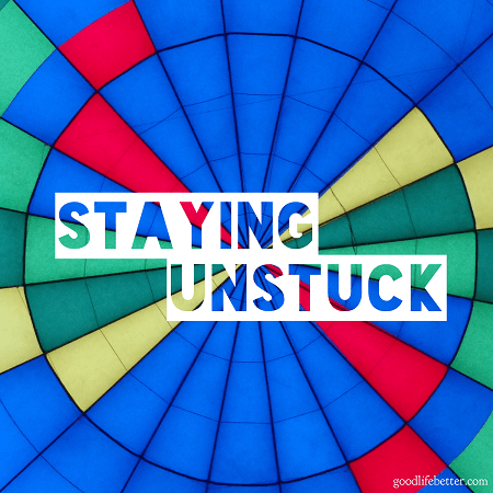 Find out how I identified the steps I took to ensure I changed my life for the better and stayed unstuck!