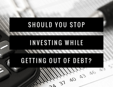 Shoud you continue investing while getting out of debt? I say yes!