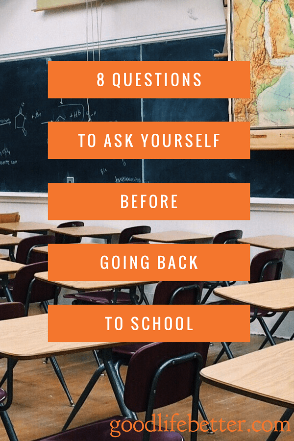 Thinking about going back to graduate school and getting a degree?  Ask yourself these 8 questions!
