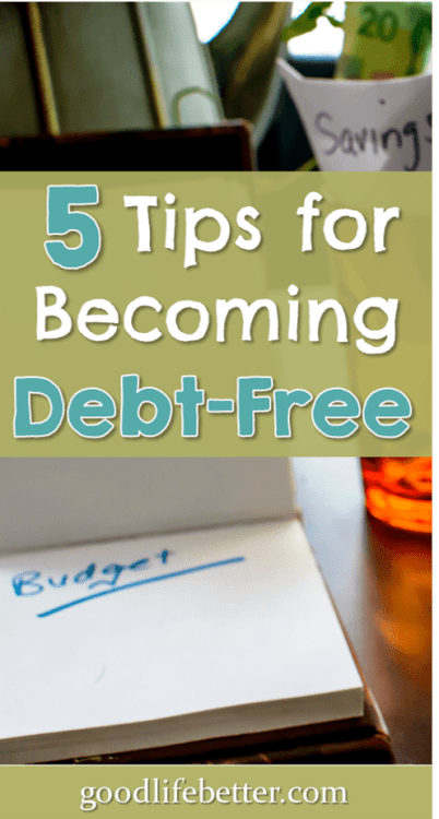 I paid off almost $60k in debt using these tips. It may take time, but you can get out of debt too! #DebtFree #GoodLifeBetter