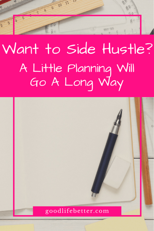Having multiple income streams is a great way to fast track your retirement planning but it's hard work. Here are somethings to consider when planning a side hustle!